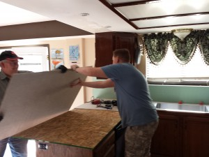Assembling the counter