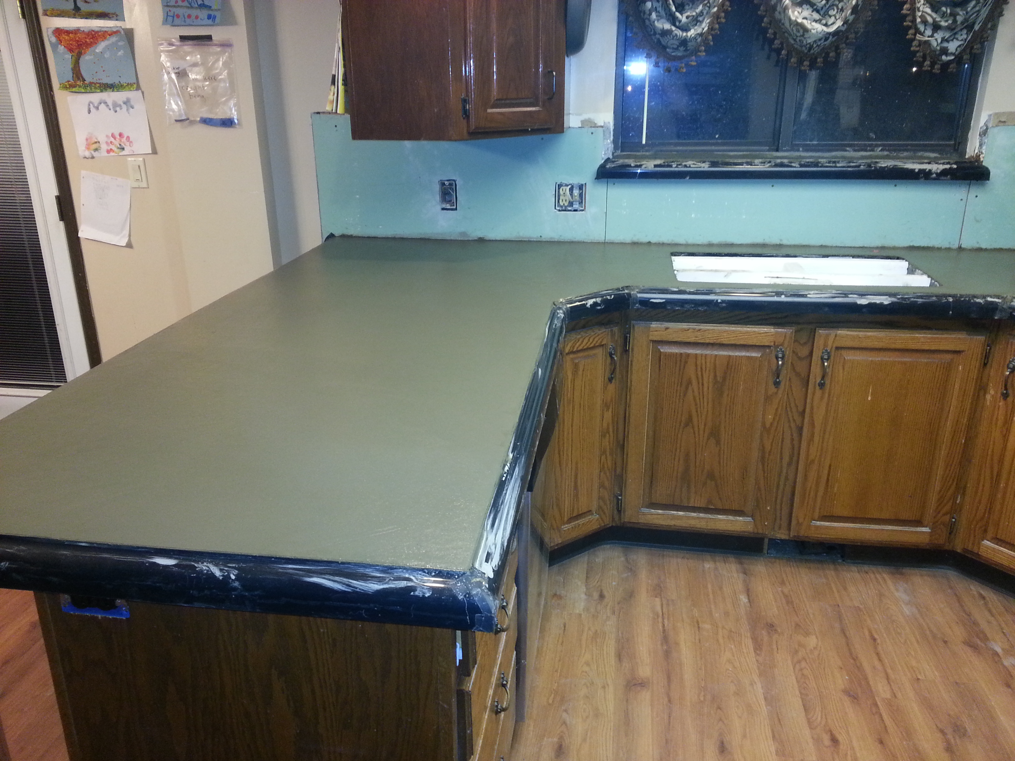 About The Concrete Countertops Keto Chow
